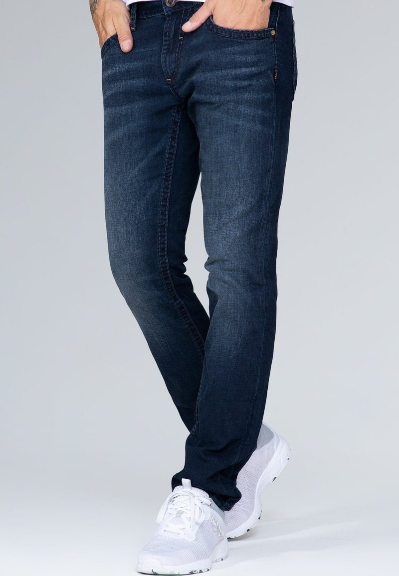 Camp David - Straight leg jeans - blue black vintage