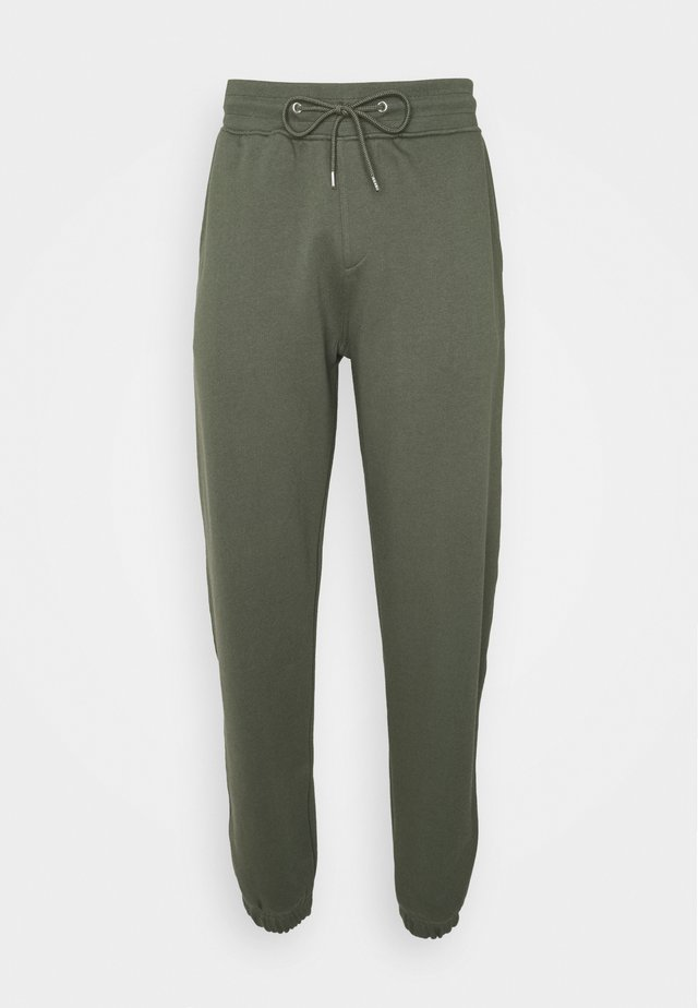 PANT - Tracksuit bottoms - army