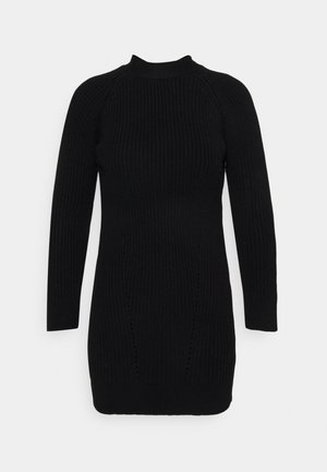 BOW BACK DRESS - Jumper dress - black