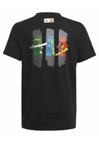 adidas Performance - LEGO NINJAGO - Print T-shirt - black - 1