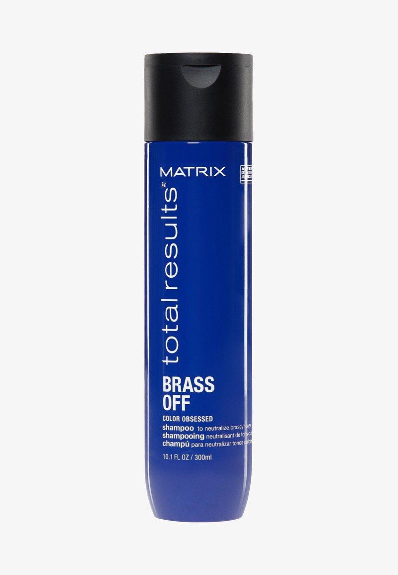 Matrix - TOTAL RESULTS BRASS OFF SHAMPOO - Shampoo - -