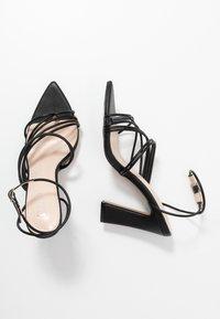 RAID - GLADDIN - Sandaler med høye hæler - black - 3