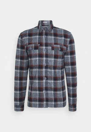 CHECKED - Shirt - bordeaux