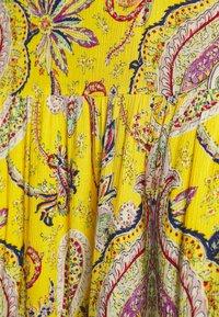Desigual - FLORENCIA - Maxi skirt - yellow - 3