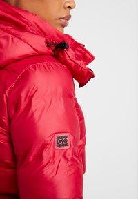 Superdry - KOANDA PUFFER JACKET - Skijakker - raspberry red - 6