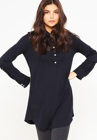 Marc O'Polo - WITH COLLAR - Pyjama top - black - 0