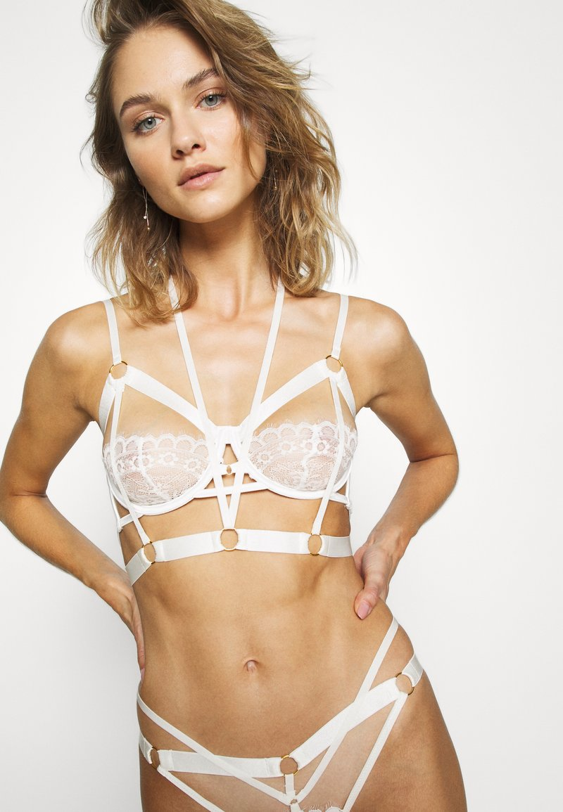 Hunkemöller - JACKY UP - Bøyle-BH - off-white