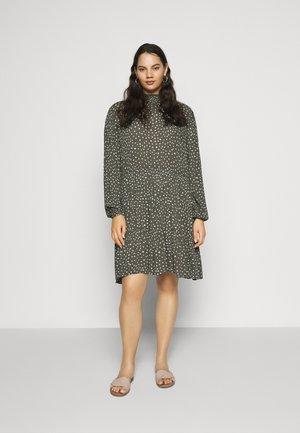 BITTEN DRESS - Day dress - grape leaf/chalk