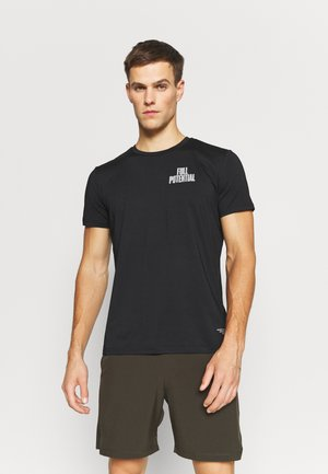 PERFORMANCE - T-Shirt print - black beauty