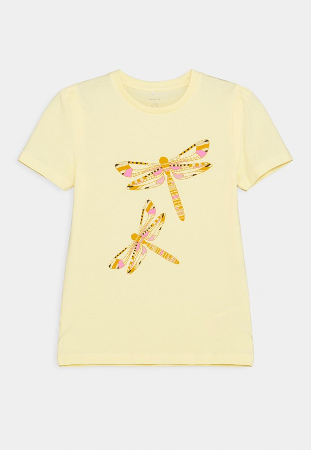 NKFBEINA - T-shirt med print - sunlight