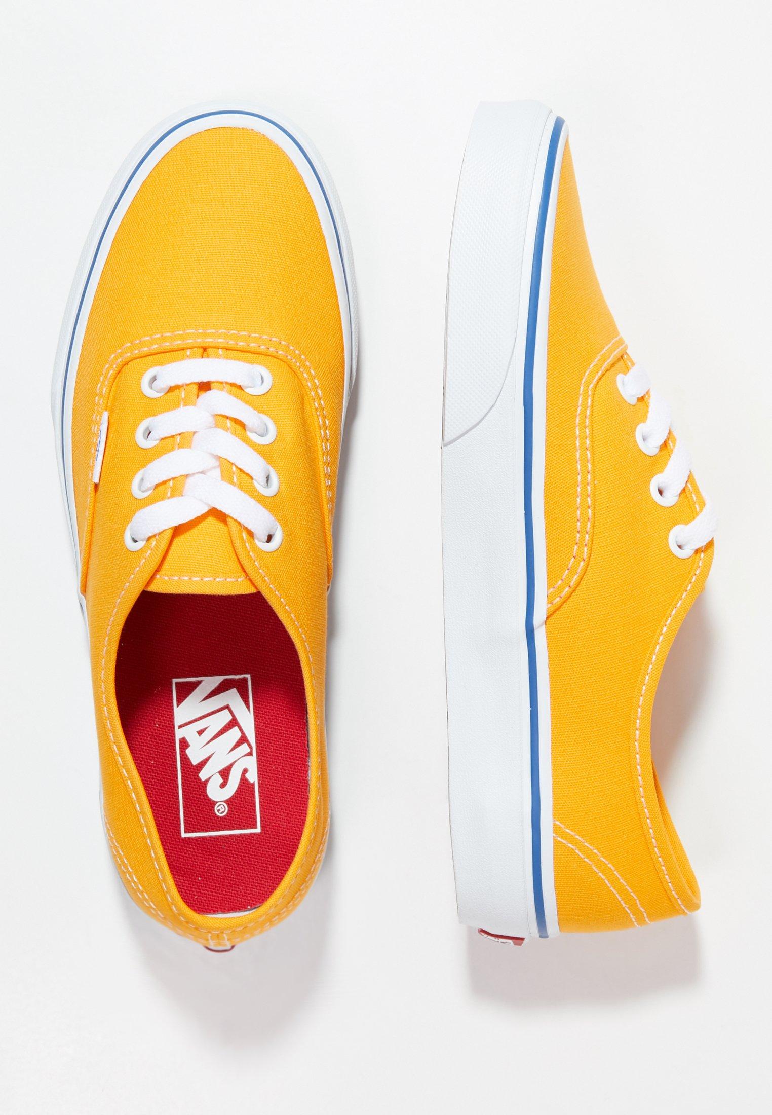 chaussure de skate vans jaune
