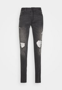 Hollister Co. - Skinny džíny - grey - 4