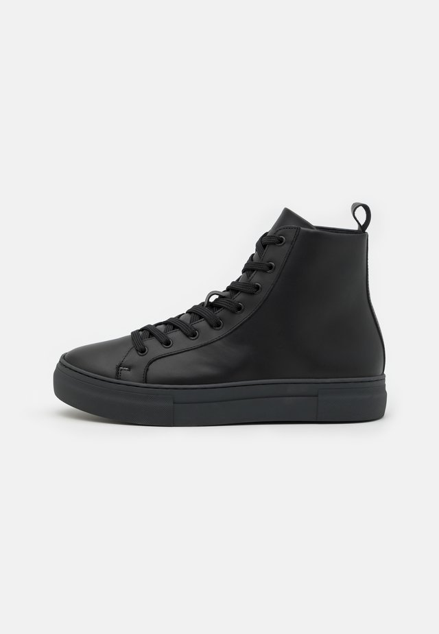 SLHDAVID CHUNKY TRAINER  - Baskets montantes - black