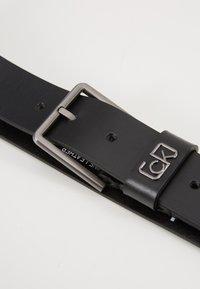 Calvin Klein - SIGNATURE BELT CARDHOLDER SET - Belt - black - 2