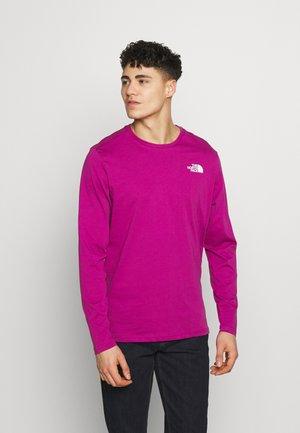MENS TEE - Longsleeve - wild aster purple