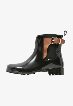 OXLEY - Wellies - black/winter cognac