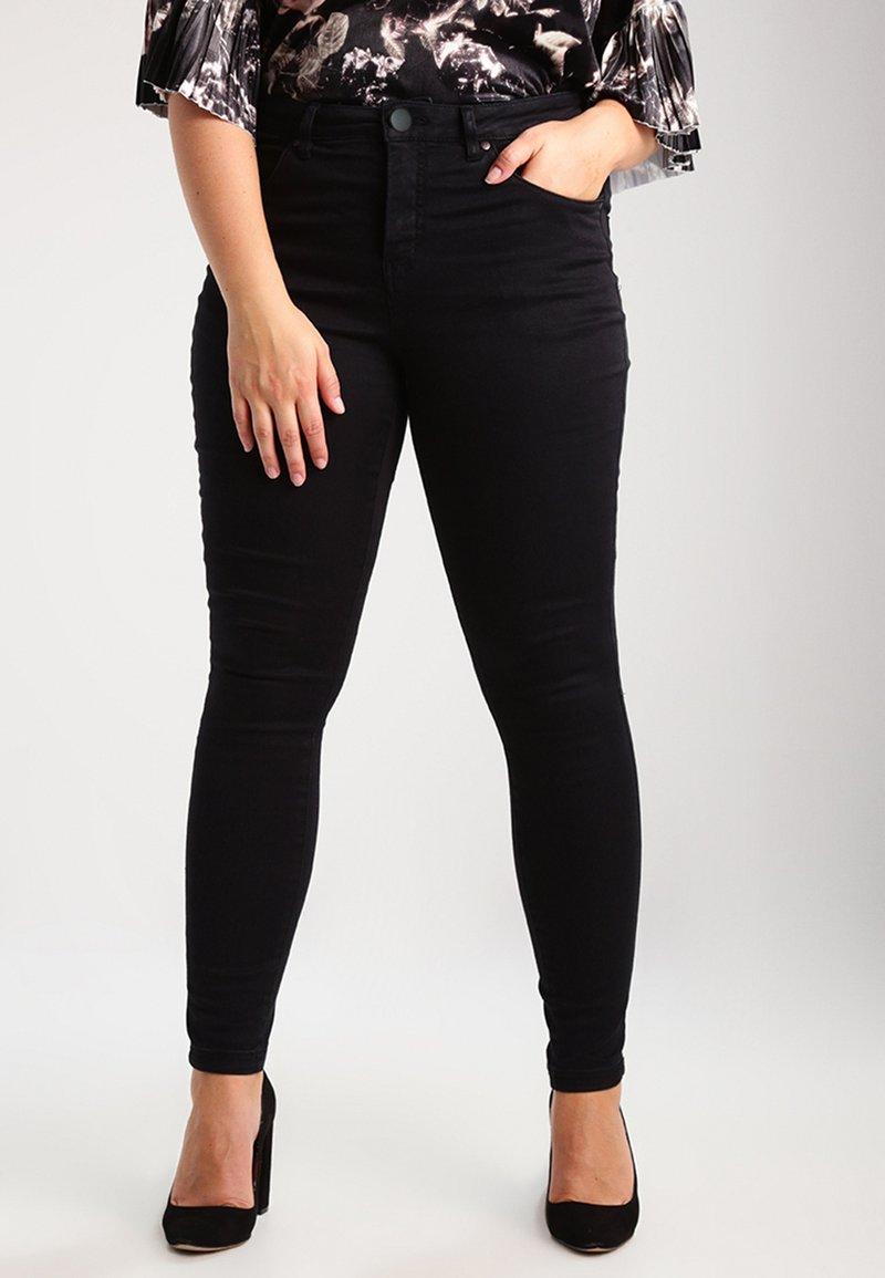 Zizzi - AMY LONG - Jeans Skinny Fit - black