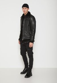 Be Edgy - AUSTIN - Leather jacket - black - 1