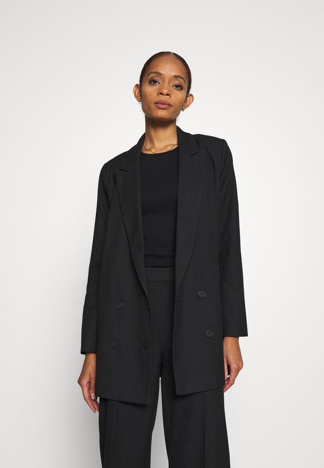 WATSON - Krátký kabát - black