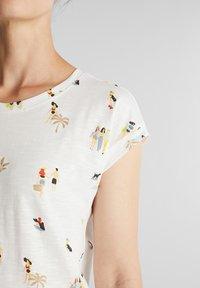 Esprit - T-shirt z nadrukiem - off white - 3