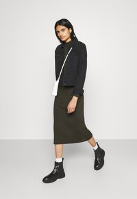 G-Star - PLATED LYNN DRESS MOCK - Shift dress - algae - 1