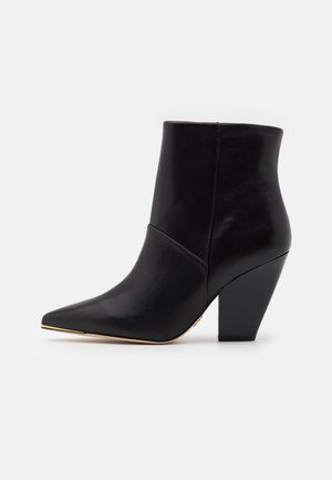 LILA ZIP UP - High heeled ankle boots - perfect black