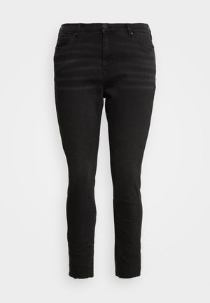 CROPPED AMY - Jeans Skinny Fit - black
