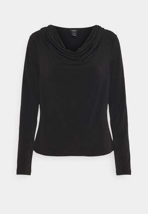 JOSEPHINE - Long sleeved top - black