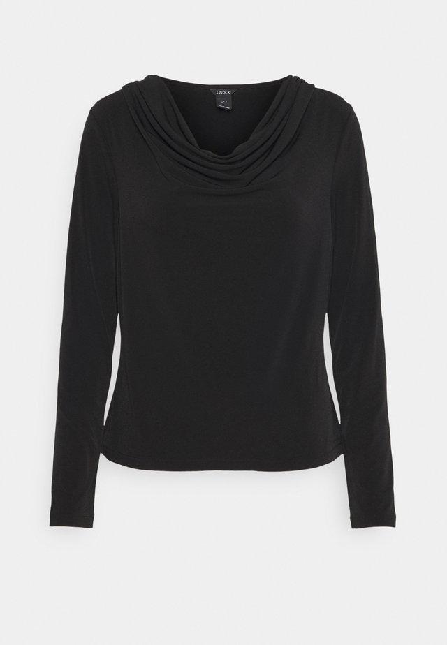 JOSEPHINE - Pitkähihainen paita - black