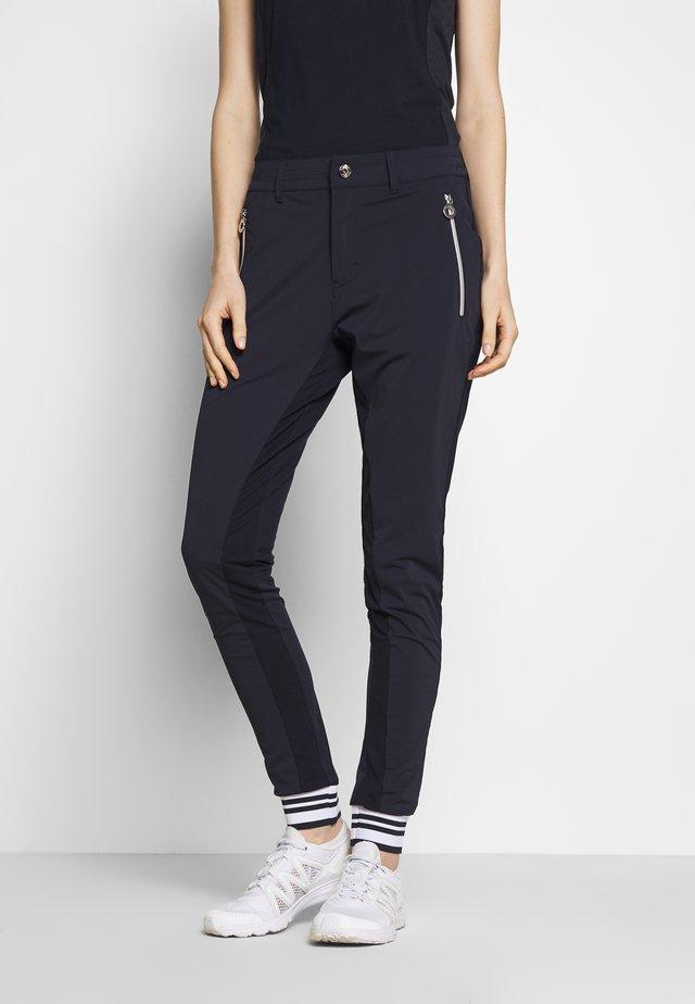 HOOLI - Pantalon classique - dark blue