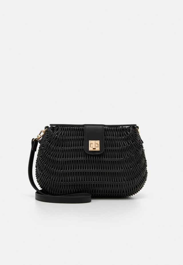 CROSSBODY BAG HORTENSIA - Olkalaukku - black