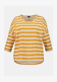 Ulla Popken - Long sleeved top - light yellow - 1