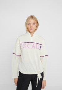 Escada Sport - LAVANDA - Stickad tröja - white - 0