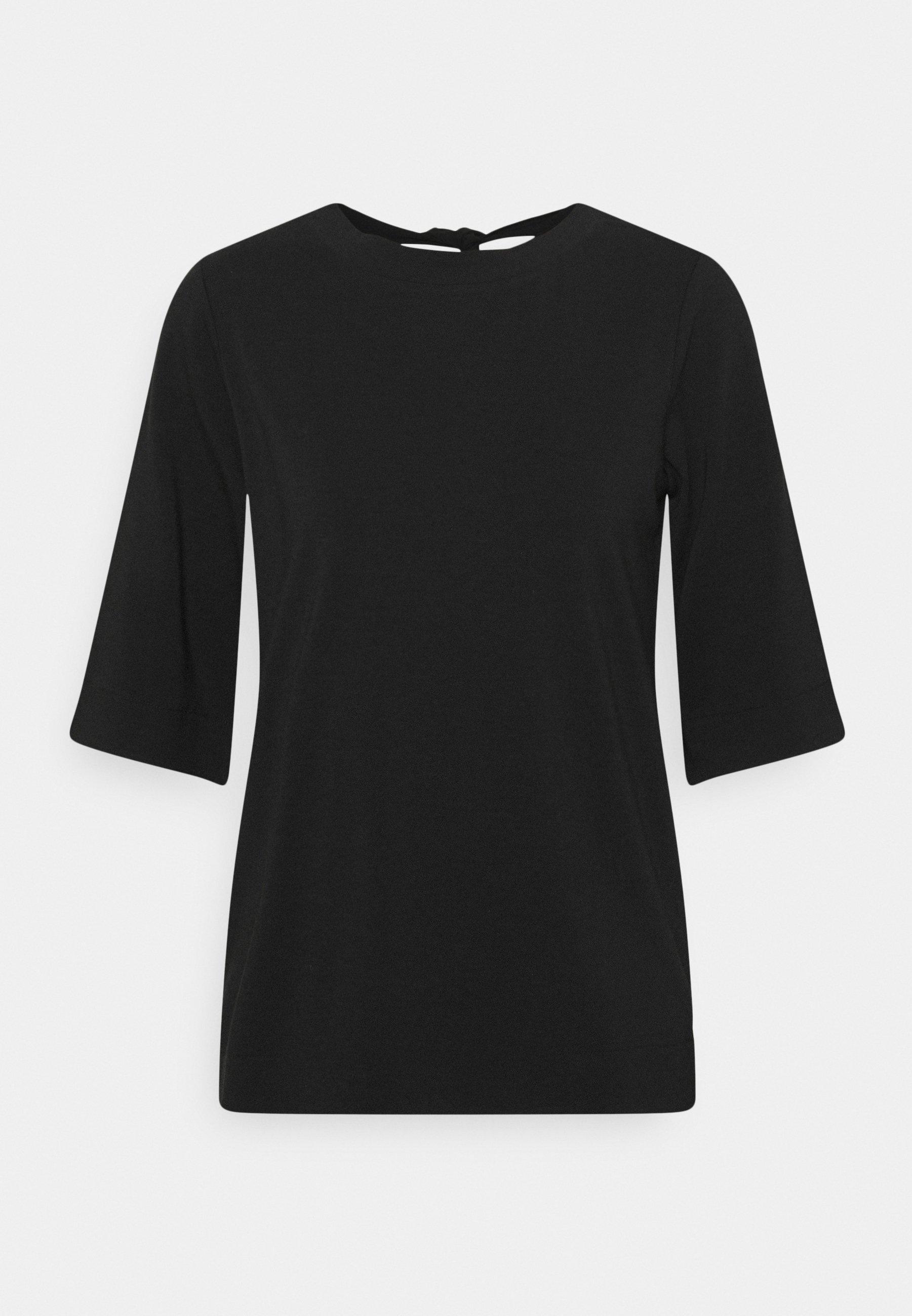 Women TIE BACK  - Print T-shirt