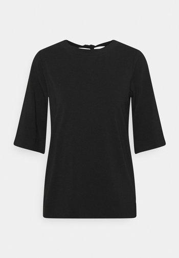 TIE BACK  - T-shirt med print - black
