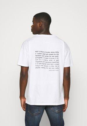 ARNE - Print T-shirt - white