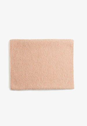 Snood - mottled light pink