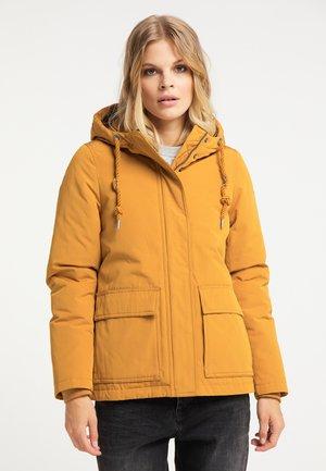 Veste d'hiver - mustard yellow