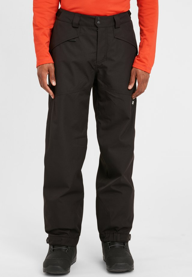 CUFFED  - Pantalon de ski - black out