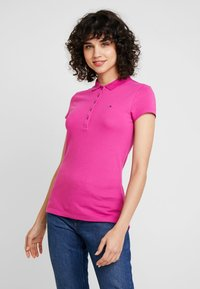 Tommy Hilfiger - NEW CHIARA - Polo shirt - purple - 0