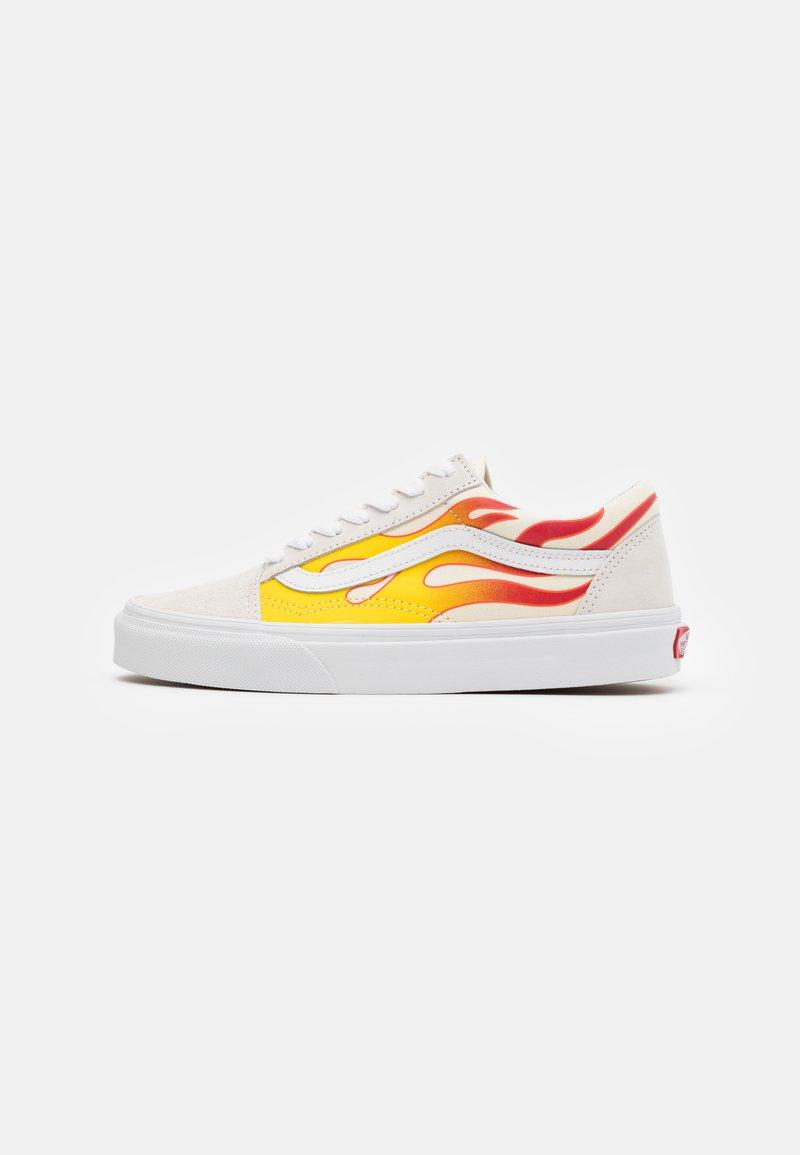 Vans - OLD SKOOL UNISEX - Sneakers - true white/classic white