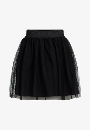 MEISJES TULE - Mini skirts  - black