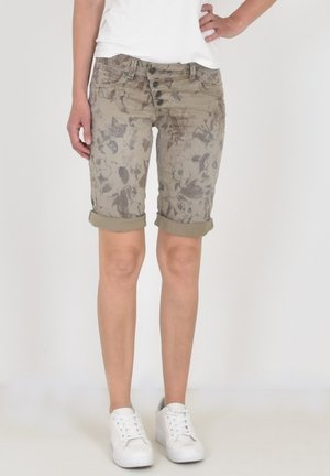 MALIBU - Shorts - beige flower