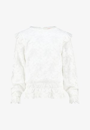 JELENA - Long sleeved top - real white