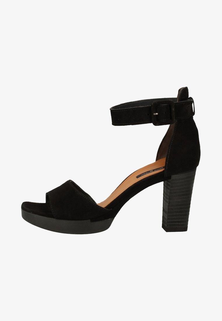 Paul Green - High heeled sandals - black
