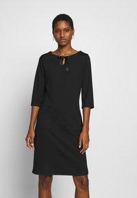 Re.draft - COZY DRESS - Denní šaty - black - 0