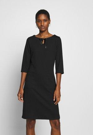 COZY DRESS - Denní šaty - black