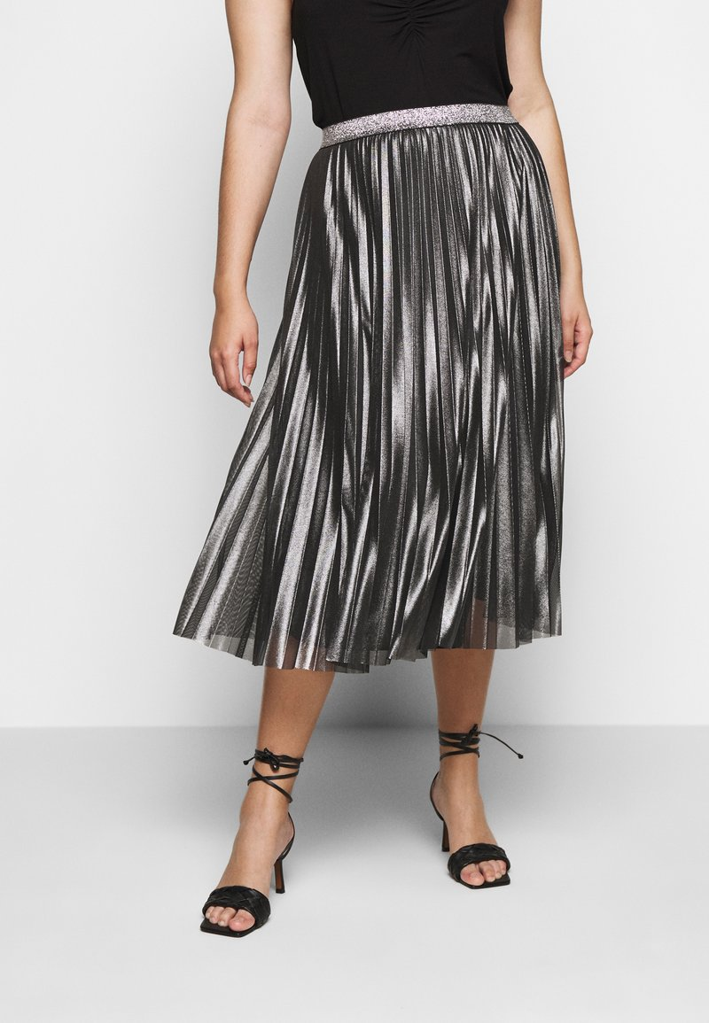 Persona by Marina Rinaldi - Pleated skirt - black