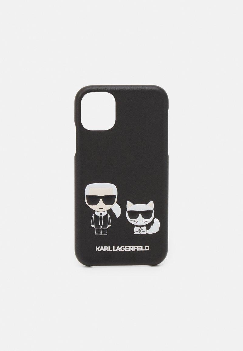 KARL LAGERFELD - CHOUPETTE CASE IP11 - Phone case - black