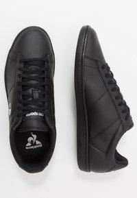 le coq sportif - COURTSET - Zapatillas - triple black - 1